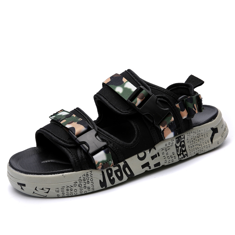 a3f59491db0 Brand Fashion Men Beach Sandals High Quality Summer Men Sandals 2018 summer  men s beach sandals outdoor