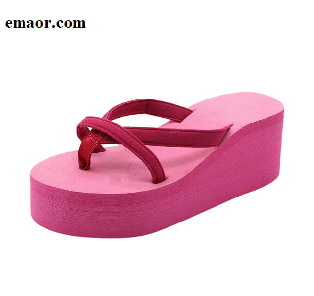 099c49e1b63c Platform Sandals Women High Heel Summer Shoes Fashion Straped Slippers  Beach Flip Flops Solid Slides Women