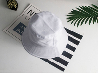 Girls cotton Headwear new spring Hats Pattern kid's Wide Rim Style Sun Cap Flat Fishing Bucket Hat beach hat EMAOR