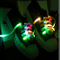 Multicolor LED Shoelaces Light Up Nylon Shoestring Lighting the Night for Christmas Party Hip-Pop Dancing Cycling Running Walking