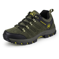 2018 new style hiking shoes PU outdoor shoes cheap shoes trekking shoes waterproof elastic