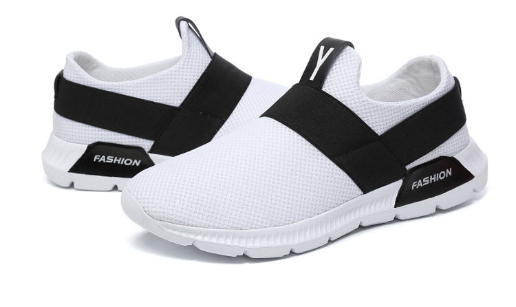 EMAOR High fashion fly knit casual shoes male slip on walking running sneaker men small wholesale on line shop CHINA