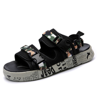 Brand Fashion Men Beach Sandals High Quality Summer Men Sandals 2018 summer men's beach sandals outdoor shoes men casual shoe flip flops sneaker