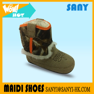High Quality Hot Selling Brown Cheap Baby Boots With Warm Fur Special design for comfortable running and healthy training