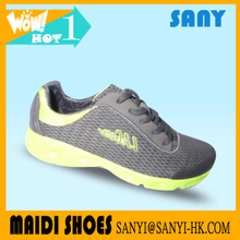 New Arrival Chinese Jinjiang Simple Mesh Sport Running Shoes with Durable Outsole for Men