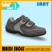 Stylish Breathable Wear-resistant Sport Kid Suede Mesh Shoe for Boy