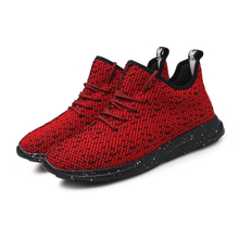 Men's fly knit running shoes casual sneakers same kind as Adidas Nike casual jogging shoes 2018 news