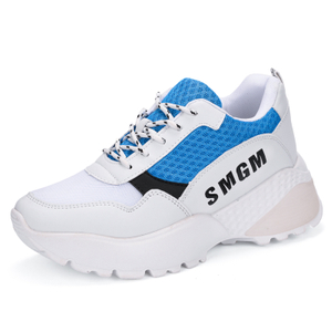 mesh four section sports Korean leisure section women Shoes Street auction sports shoes Male Korean version thick bottom HOT