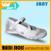 Children's Canvas Shoes Boys Girls Students Kids White Cloth Shoes Gymnastics Dancing Shoes