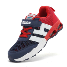 2018 Hot spring air cushion children's sports shoes Fashion casual running shoes for kids Hollow breathable mesh sneakers