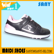 Classic Black Cool Skateboard Shoes for Woman from Jinjiang Fujian