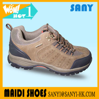 New Brand Most Durable Suede Leather Hiking Shoes with Durable Outsole for Men