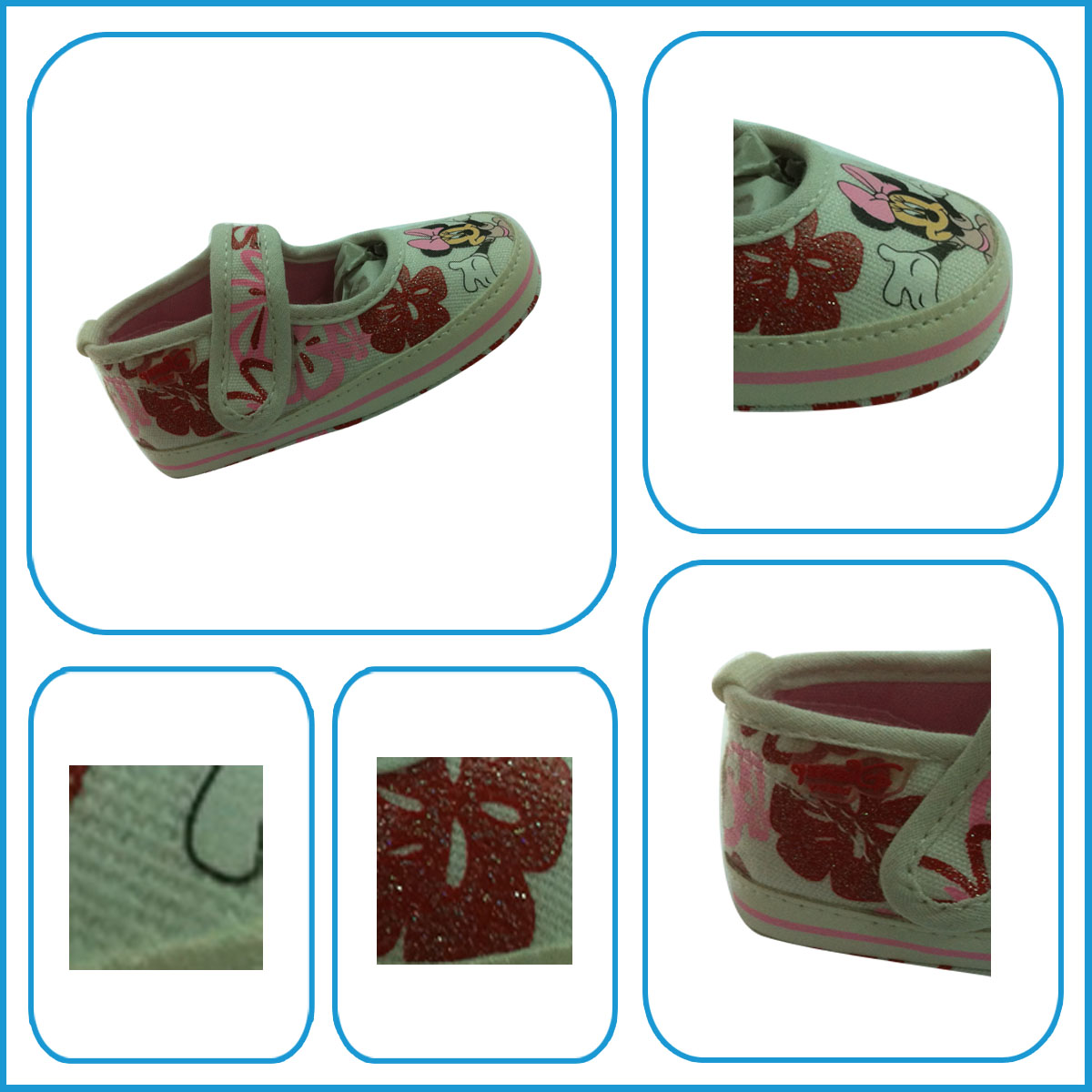 Newborn baby girl toddler shoes with factory wholesale