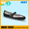 Hot Selling Ballerina Simple Stylish Black Flexible Cheap Dance Shoes with Durable TPR Outsole