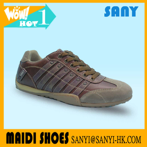 Best Selling Men Brown Classical Casual Shoes to Wear with Jeans Reflecting Fashionable Style from China