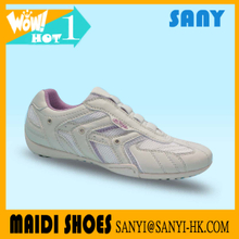 New Products Small Woman slip-on Casual Shoe of Top Quality from China Market with PU Mesh Upper and Rubber Outsole