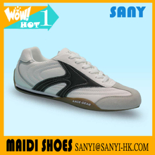 Newest Style--Popular Men's Leather Casual Shoe with Anti-abrasion Outsole