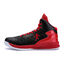 Sport Shoes For Men Leather Basketball Shoes Anti-Slip Basketball Shoes Cheap Men's Sneakers Basketball 2018 hot sell