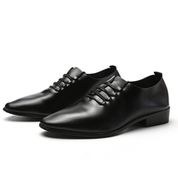 Men's leather shoes formal shoes black dress shoes smart modern stylish 2018 hot sell on line shop