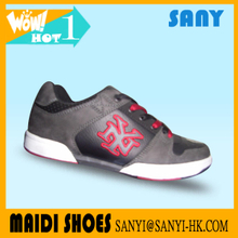 Hot selling Fashionable Casual Satin and PU Kid Shoes with high quality lower price
