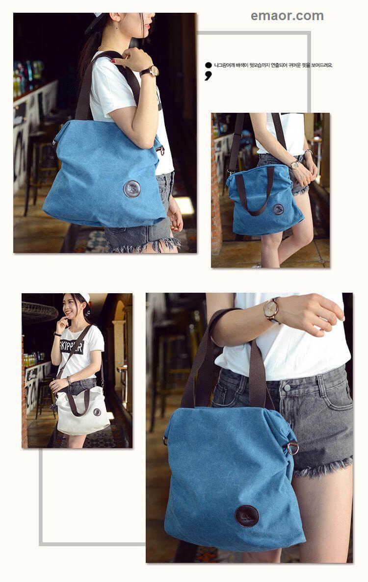 Crossbody Bags for Women Canvas Casual Handbag
