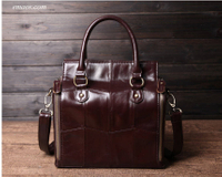 Cobbler Legend Multifunction Large Soft Handbags Cheap Top-Handle Bags Genuine Leather Bags Shoulder Crossbody Bags