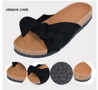 Slippers for Women Slippers with Arch Support Indoor Outdoor Linen -flops Beach Shoes Concha Slippers
