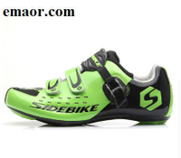 Road Cycling Shoes Men Racing Road Bike Shoes Self-locking Atop Bicycle Speakers Athletic Ultralight Professional Black Mountain Bike Shoes