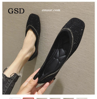 Dsw Women's Shoes Plus Size Designer Crystal Woman's Flat Shoes Elegant Comfortable Lady Fashion Rhinestone Women's Soft Bees Shoes Zapatos De Mujer Dsw Women's Shoes