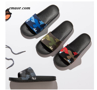Slipper Shoes Men's Slippers Camo Home Slides Bathroom Slipper Brand Slipper Summer Casual Style Shoes Slipper Havaianas