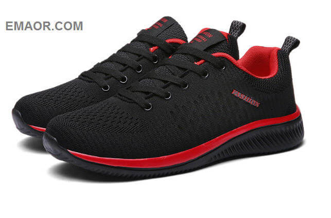 New Mesh Men Casual Shoes Lac-up Men Shoes Lightweight Comfortable Breathable Walking Sneakers Tenis Feminino Zapatos