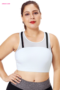 Wholesale Sports Yoga Bras Coral Strap Detail Black Yoga Crop Top