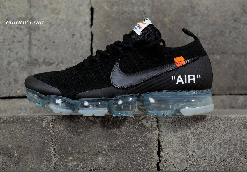 Nike OFF-WHITE X AIR VAPORMAX 'PART 2' on Sale Running Shoes Nike