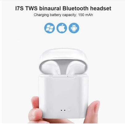 Wireless Bluetooth Earphone I7s TWS Mini Stereo Earbud Headset With Charging Box Mic For IPhone Xiaomi All Smart Phone Air Pods