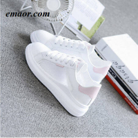 Women Casual Shoes Summer Spring Fashion Flats Hollow Out Breathable Lace-Up Women Vulcanization Sneakers