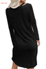 Wholesale Clear Skies Jersey Twist T-shirt Dress Best Affordable Dresses