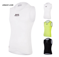 Best Undershirts for Men Sleeveless Bicycle Undershirts Highly Breathable Hot Sale Amazon China Factory