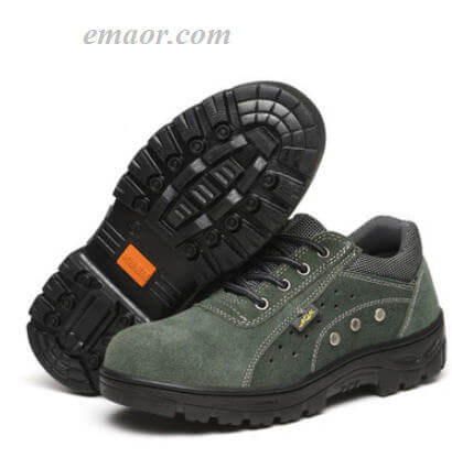 Walmart Safety Shoes Steel Toe Work Boots Oil Resistant Acid And Alkali, Insulation Work Shoes Hot Safety Shoes