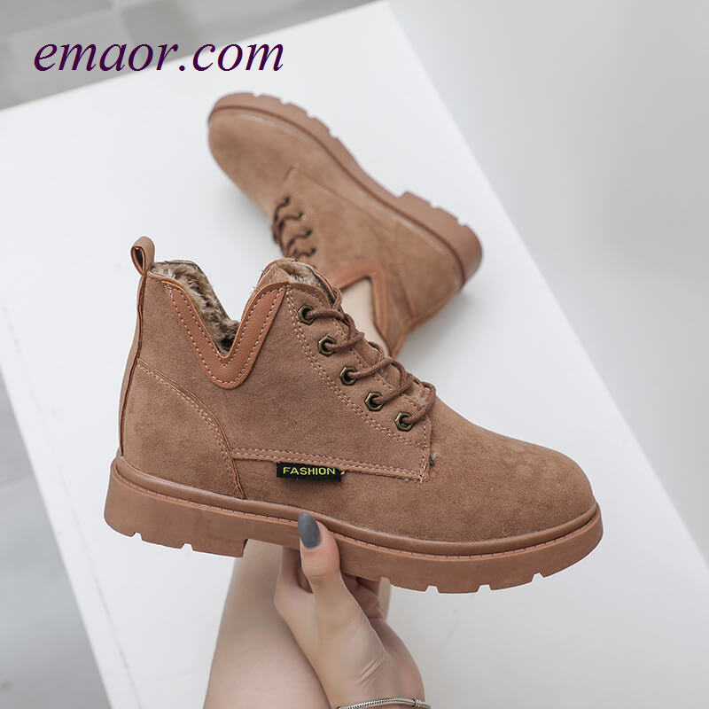 Martin Boots Ladies Joker Handsome Motorcycle Ankle Boots High Top Shoes British Style Women's Martin Boots