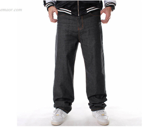 Fashion Nova Jeans Straight HIPHOP Jeans in Primary Colors Men's Style Straight Leg Jeans