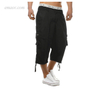Men's Cargo Sweatpants Men's Elasticated WaistPants Men's Cargo Sweatpants Cargo Pants