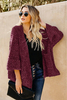 Haven Outerwear Amazon Women's Outerwear Brands Chenille Pocketed Cardigan Petite Outerwear Jackets