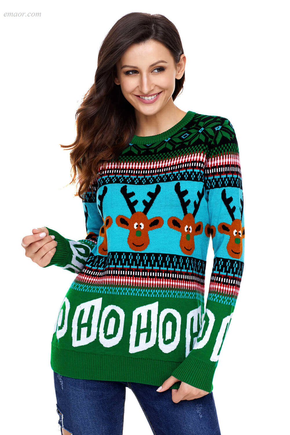 Cheap Best Selling Christmas Sweater Toddler Girl Autumn Women's Outerwear Sale