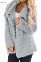 Wholesale Jackets & Coats Fur Long Sleeve Jacket Girl Outerwear Clothing