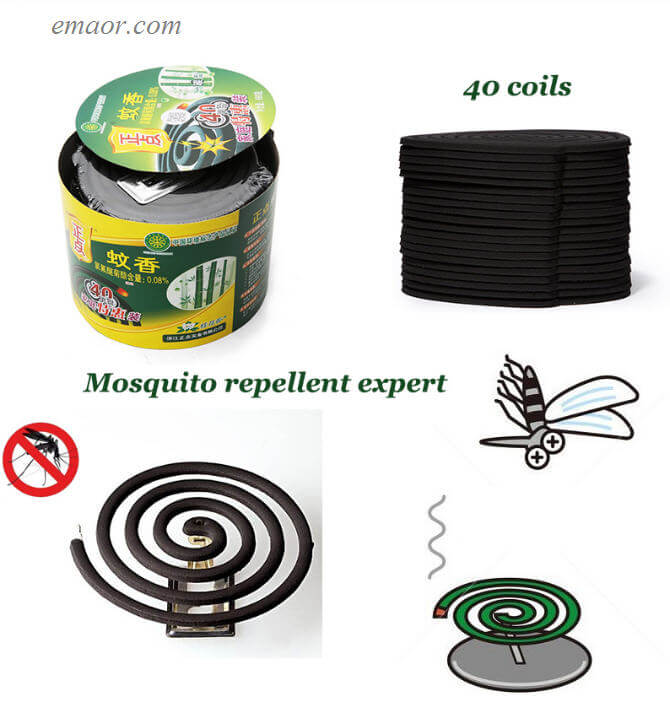 Mozzie Coils on Sale Natural Plant Extraction Household Outdoor 40 Pcs Mosquito Punk Coils