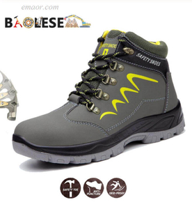 Walmart Safe Step Shoes Water-proof Work Shoes Anti-smashing Durable Safety Shoes for Men Shoes Hiking Safety Shoes Health And Safety Shoes