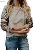 "Women""s Designer Outerwear Sequin Knit Top Plus Size Outerwear Outerwears Pre Filter Outerwear"