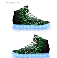 Fashion Led Shoes Anahata-APP Controlled High Top LED Shoes New Light Up Shoes