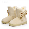 Women's Cold Weather Boots Short Winter Boots Women Snow Boots Cute Bowtie Warm Fashion Snow Boots Snow Boots Sale