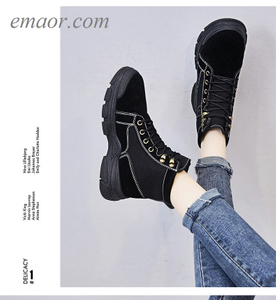 Women's Net Martin Boots Motorcycle Ankle Boots High Top Shoes British Style Students Shoes Womens Leather Martin Boots
